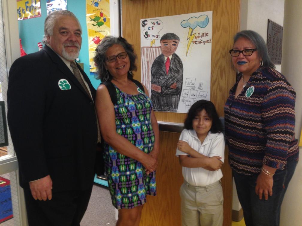 Celebrating Children's Willie Velasquez play at Hillcrest Elementary